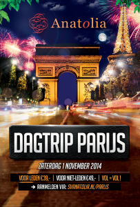 Paris dagtrip